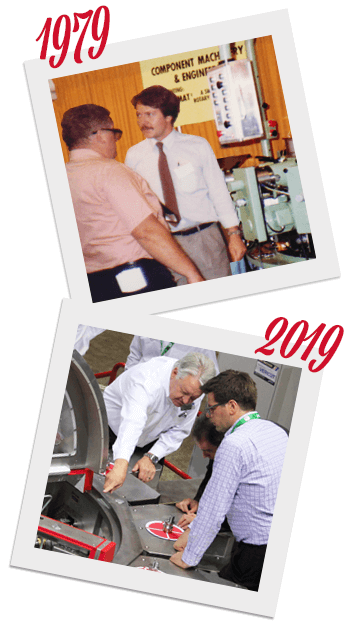 Hydromat's Bruno Schmitter through the years