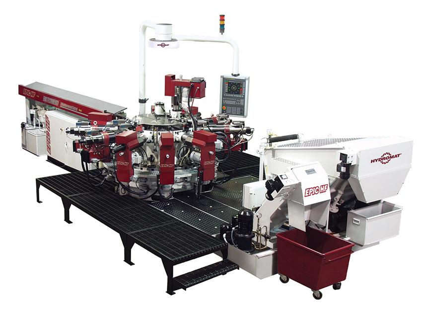 Hydromat EPIC HF FANUC 25-12 Rotary Transfer Machine