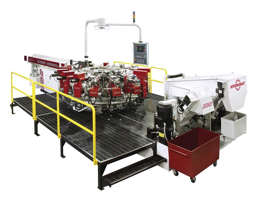 Hydromat EPIC HF FANUC 32/45-16 Rotary Transfer Machine
