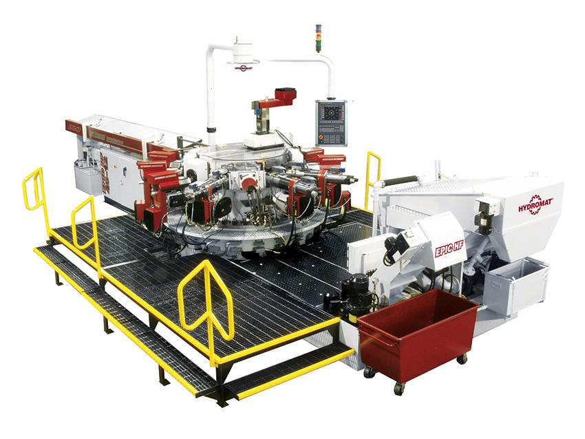 Hydromat EPIC HF FANUC 45-12 Rotary Transfer Machine