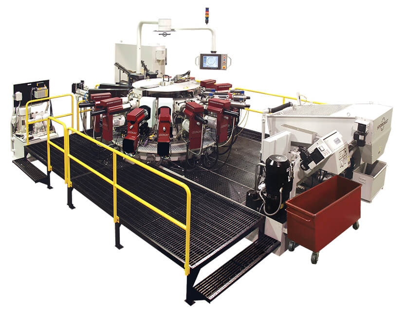 Hydromat EPIC R/T HS-16 Indexing Chuck Rotary Transfer Machine