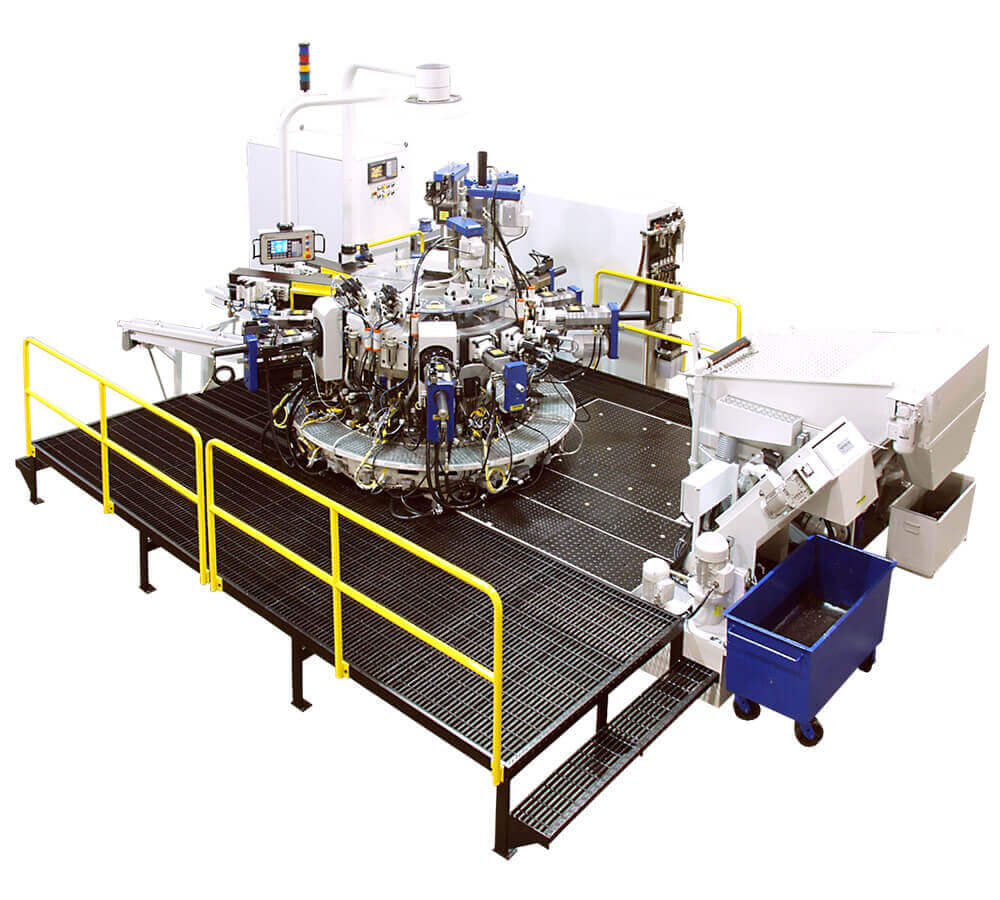 Hydromat HS Indexing Chuck Rotary Transfer Machine