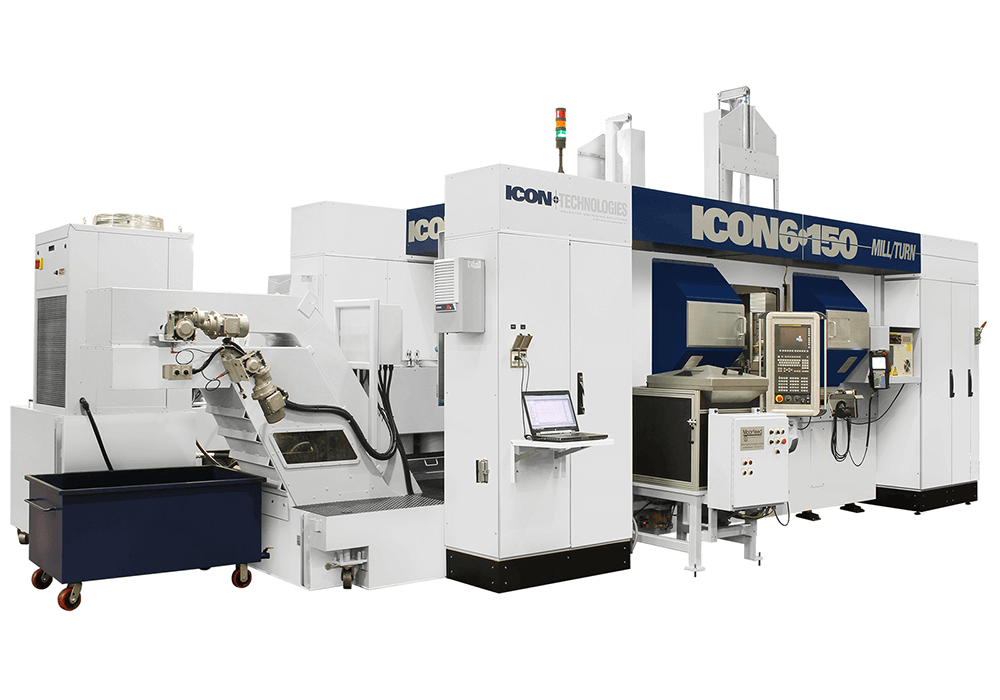 ICON Technologies: ICON 6-150 Mill/Turn Machine
