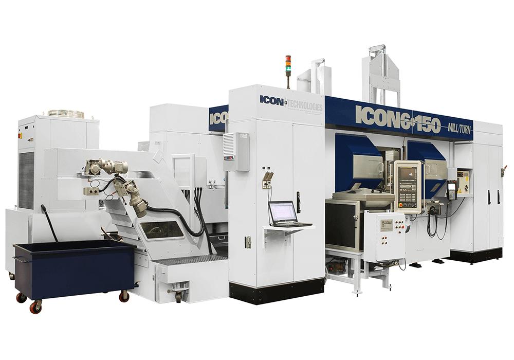 ICON 6-150 Mill/Turn Machine