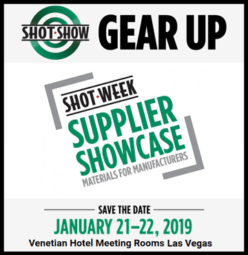 Shot Show Supplier Showcase - Las Vegas - Jan 22-25, 2019