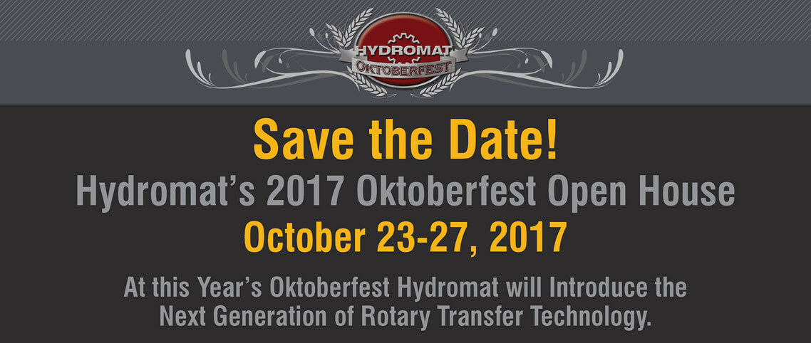 Oktoberfest Save The Date - October 23-27, 2017