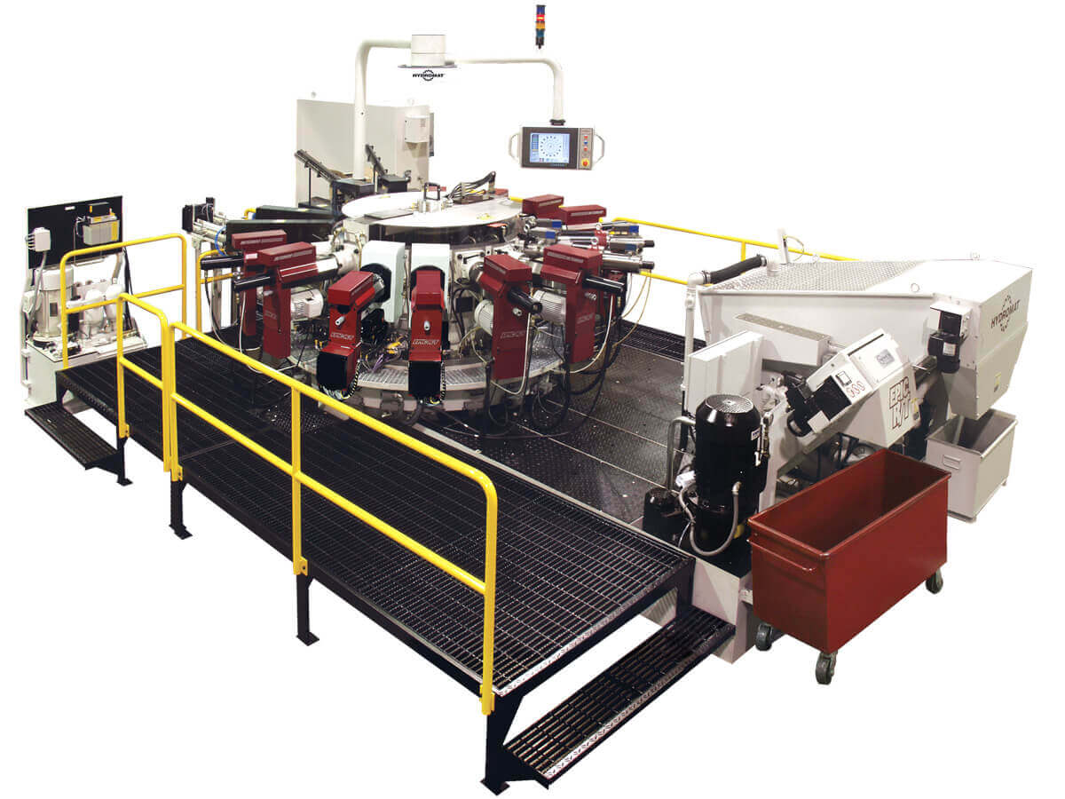 Hydromat EPIC R/T HS 12 Indexing Chuck Rotary Transfer Machine