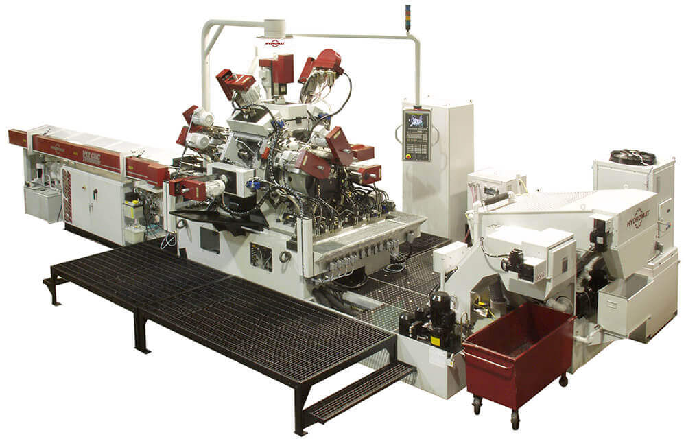 Hydromat V8 & V12 Trunnion Rotary Transfer Machines