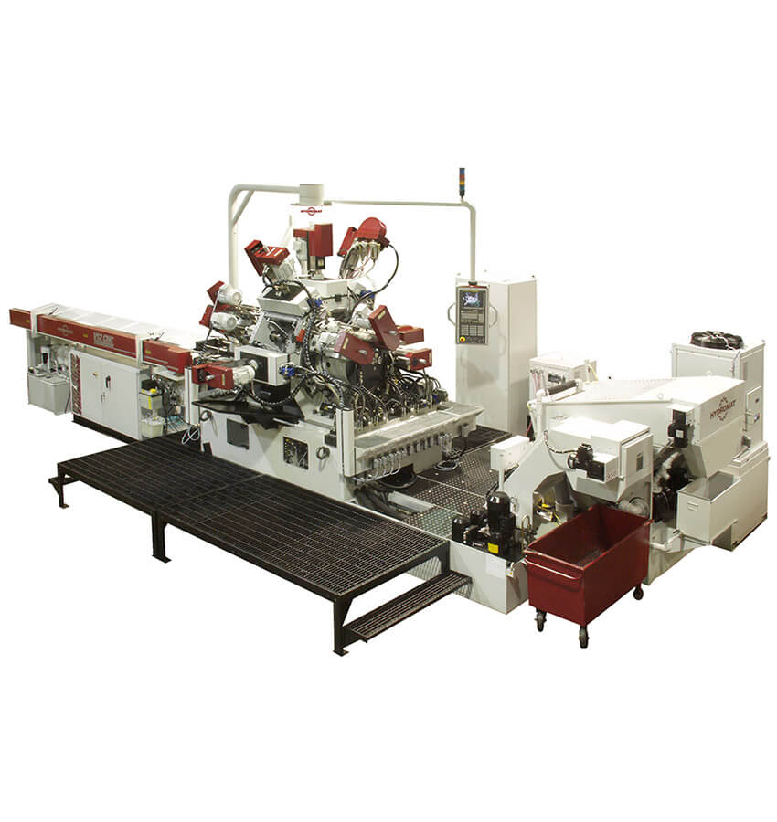 Hydromat Trunnion V8 & V12 Machines
