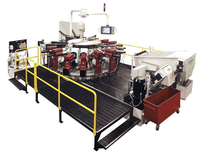 Hydromat EPIC HS Indexing Chuck Rotary Transfer Machine Image