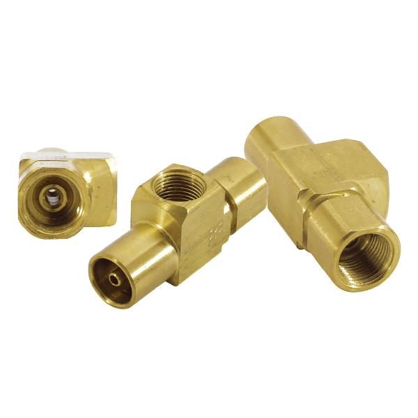 Fitting - Connector: Brass 360 Extruded Bar