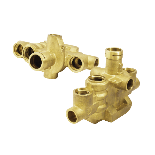 Fluid, Gas, Valves: Brass Casting