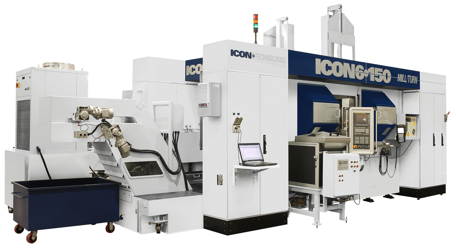 ICON Technolgoies 6-150 Mill/Turn Machine image