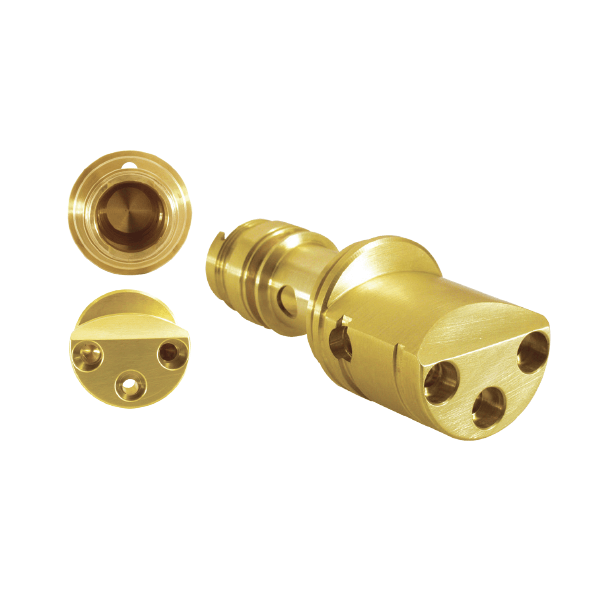 Plumbing: Brass 360 Pre-Machined Blank