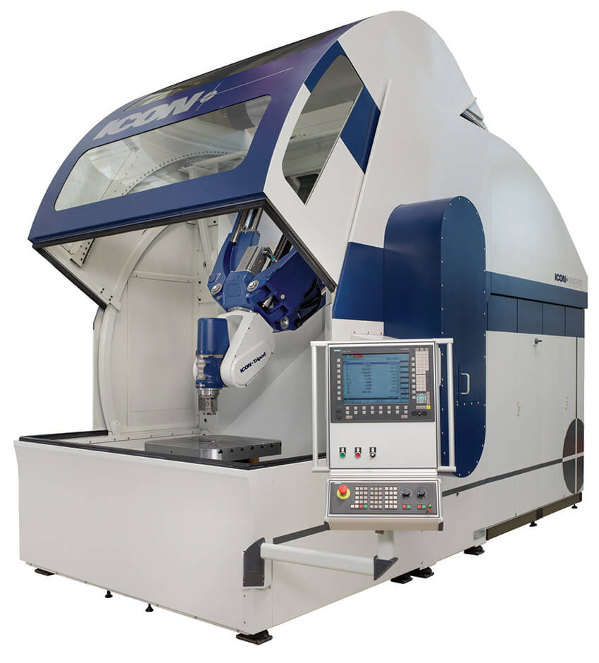 ICON Technologies Tripod POWERFLEX Parallel Kinematics Machine image
