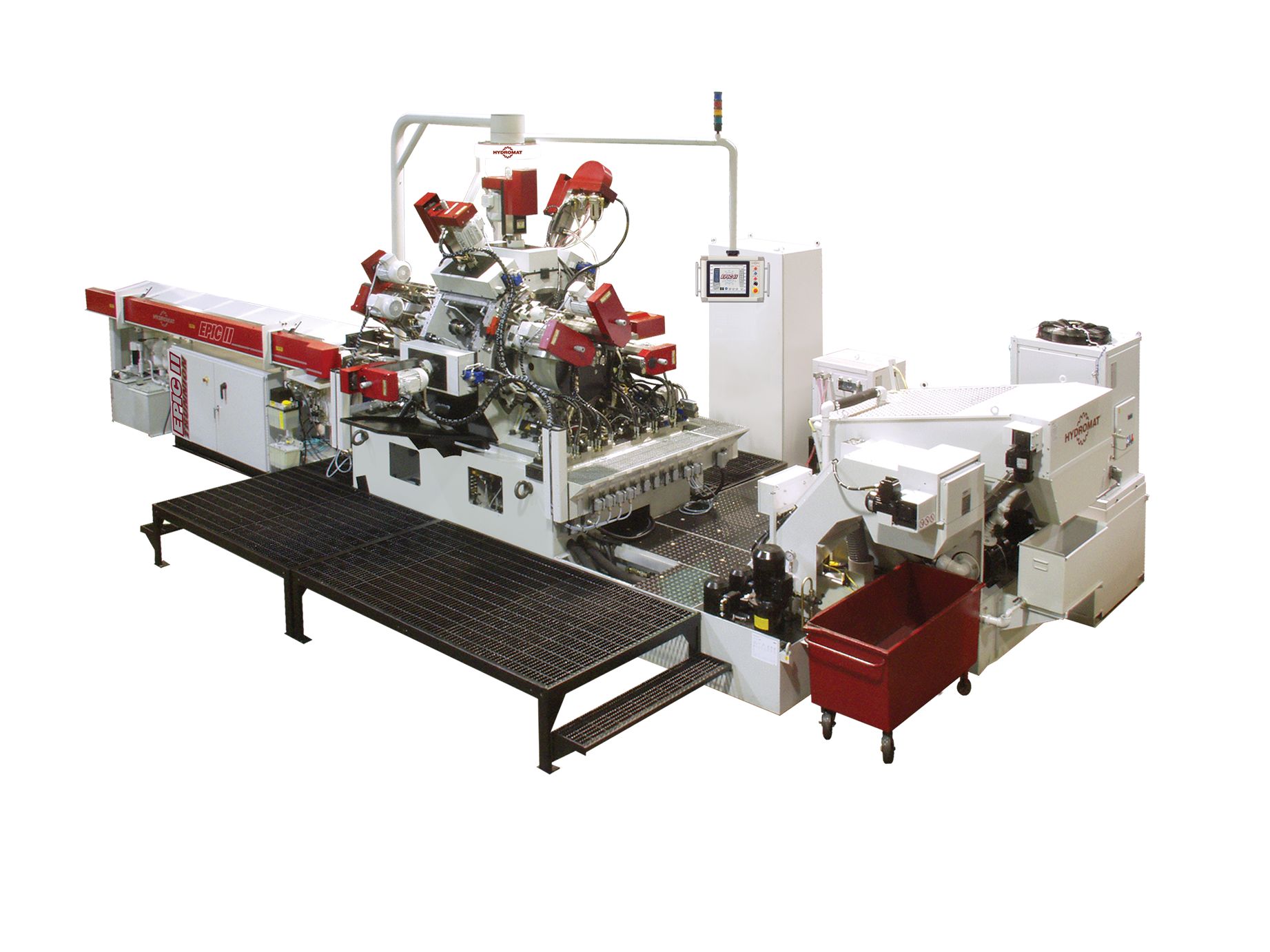 Hydromat EPIC II Trunnion V8 & V12 Rotary Transfer Machine image