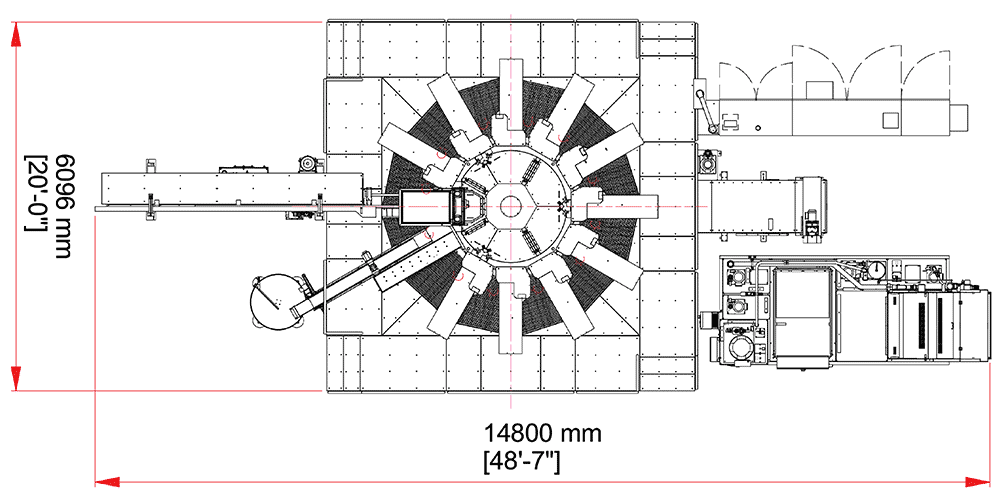 Eclipse 12-100 (Overhead diagram)
